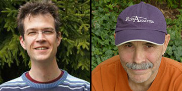 photo of the page authors Rene Eschen and David Gray